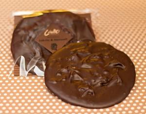 Mörk choklad med rålakrits
