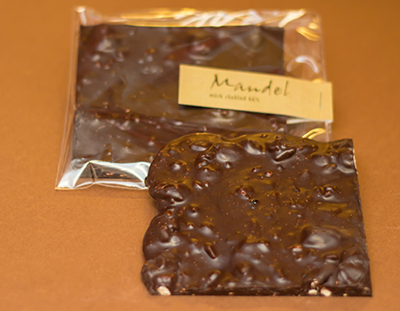 Criollo Mandel chokladkaka