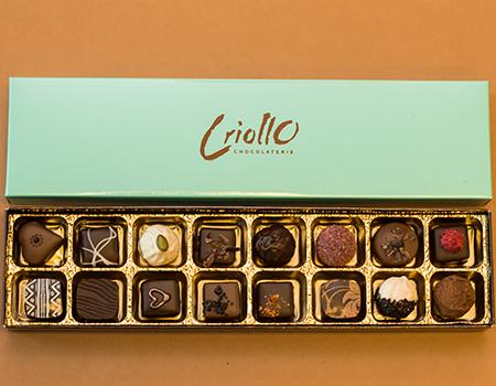 Chokladpraliner ask 16 bitar